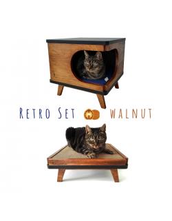 Zestaw Retro Walnut
